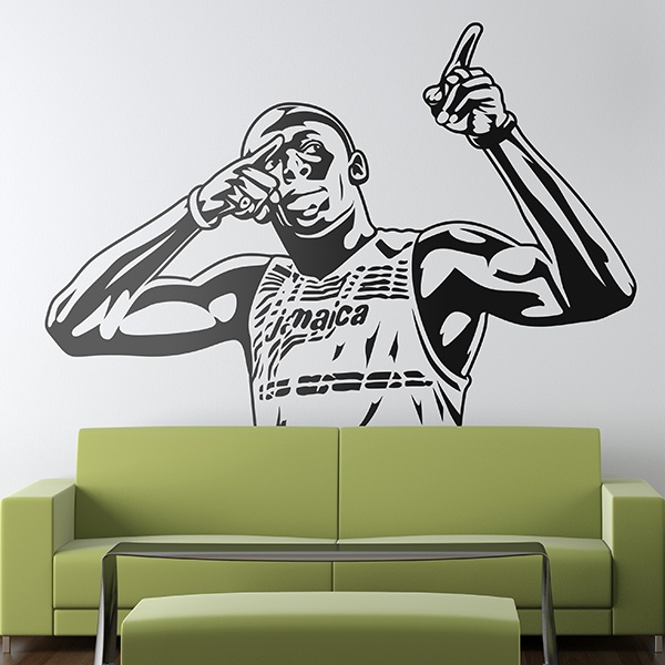 Wall Stickers: Usain Bolt