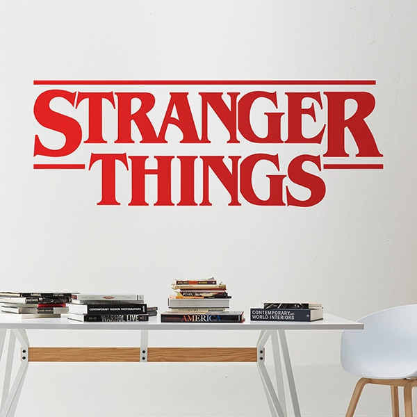 Wall Stickers: Stranger Things 2