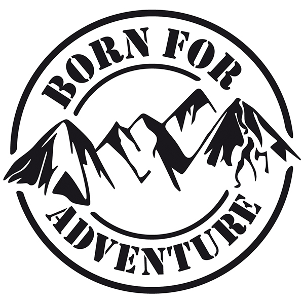 Wall Stickers: Born for Adventure
