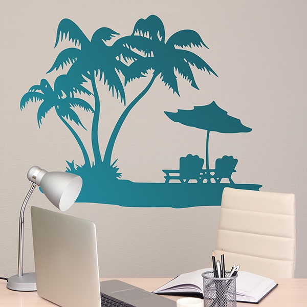 Wall Stickers: Corner of paradise