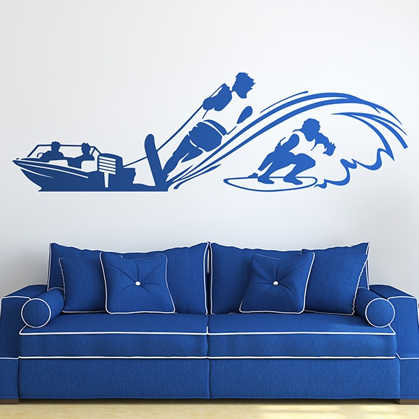 Wall Stickers: Wakesurf 0
