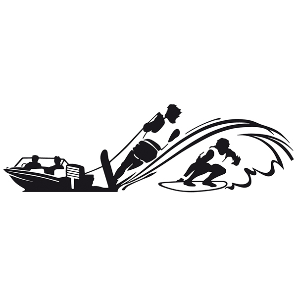 Wall Stickers: Wakesurf