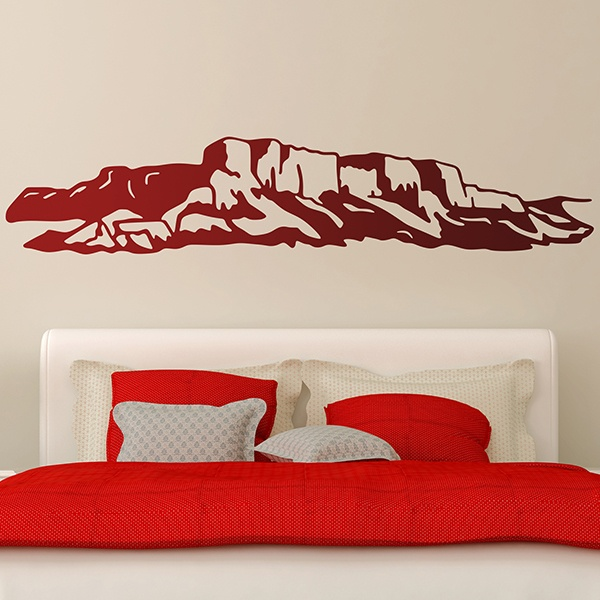 Wall Stickers: Rocky landscape
