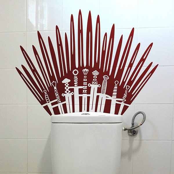 Wall Stickers: Iron Throne