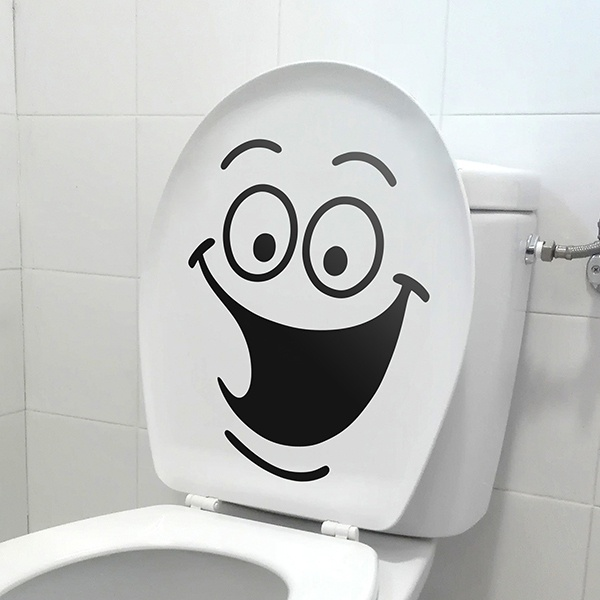 Wall Stickers: Laughter WC