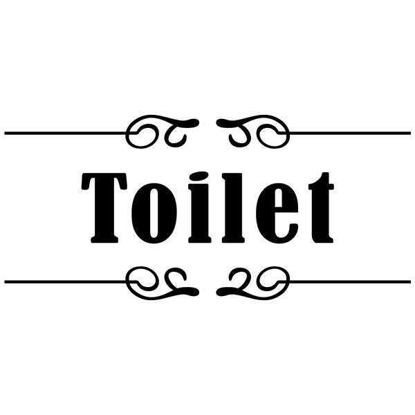 Wall Stickers: Signaling - Toilet
