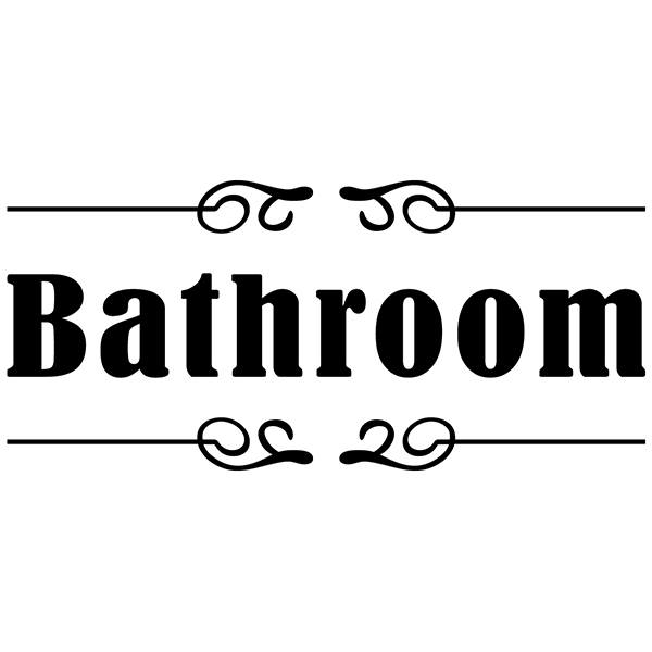 Wall Stickers: Signaling - Bathroom