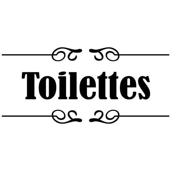 Wall Stickers: Signaling - Toilettes
