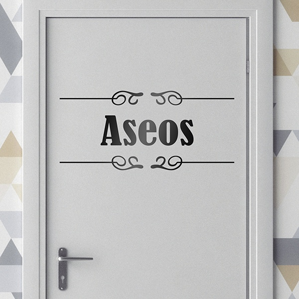 Wall Stickers: Signaling - Aseos
