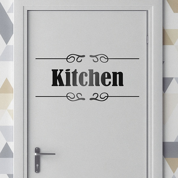 Wall Stickers: Signaling - Kitchen