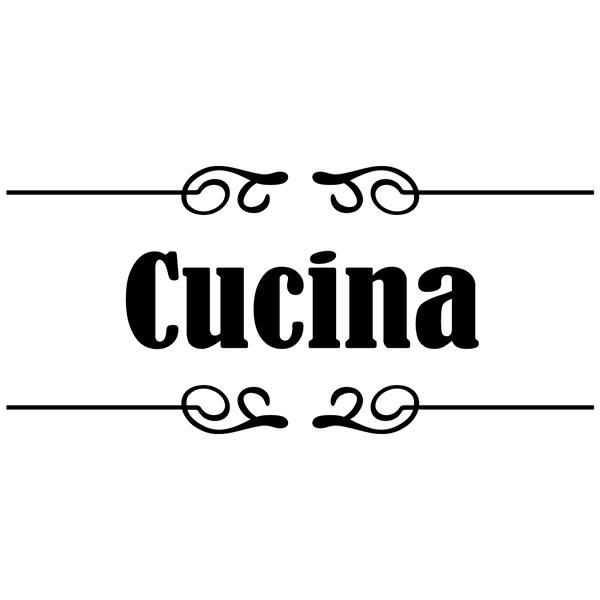 Kitchen wall sticker Signaling - Cucina | MuralDecal.com