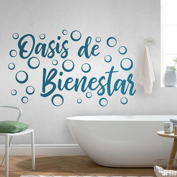 Wall Stickers: Wellness Lounge