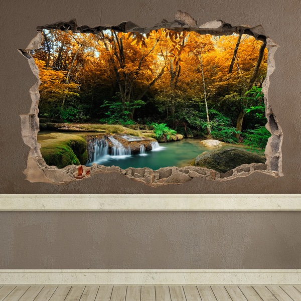 Wall Stickers: Hole Spring in the forest