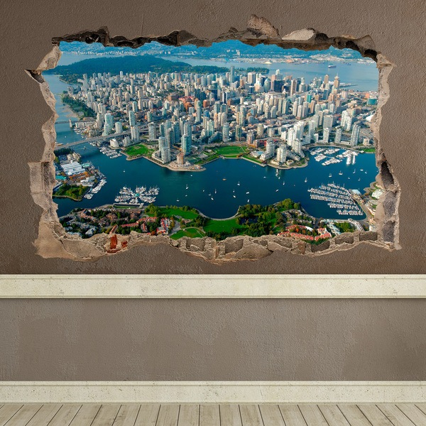 Wall Stickers: Hole City Vancouver