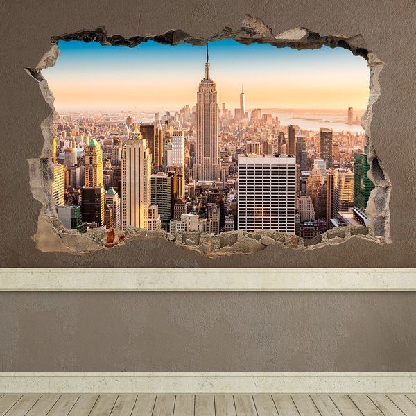 Wall Stickers: Hole New York