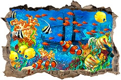 Wall Stickers: Loch Seabed 3