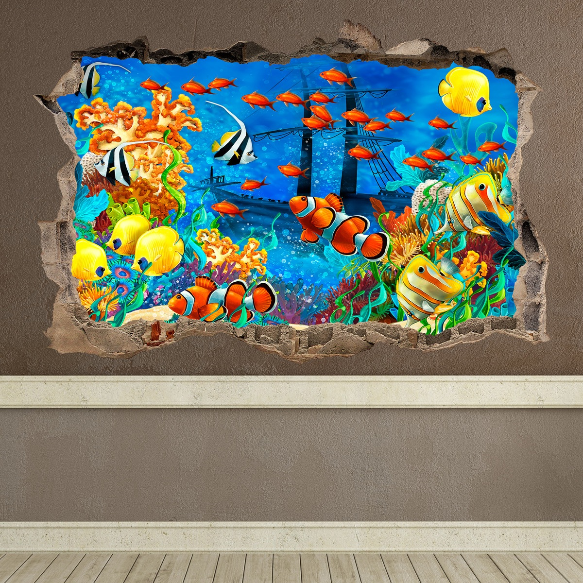 Wall Stickers: Loch Seabed