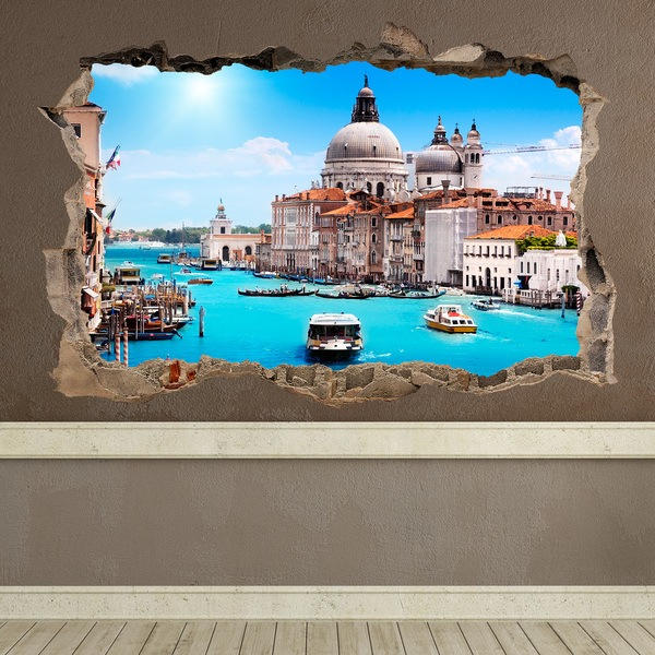 Wall Stickers: Hole Venice