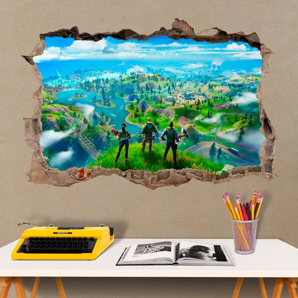 Wall Stickers: Fortnite prepared