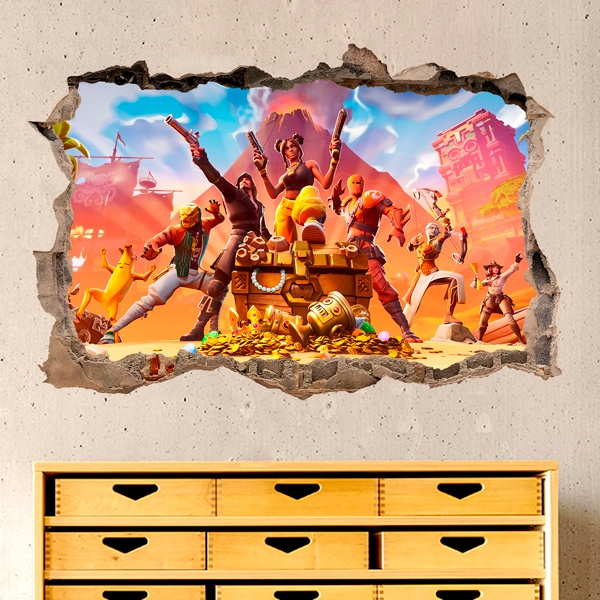 Wall Stickers: Fortnite chest