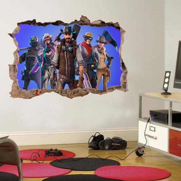 Wall Stickers: Fortnite team