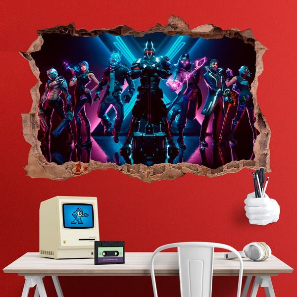 Wall Stickers: Fortnite season 10
