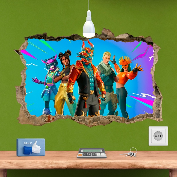 Wall Stickers: Fortnite save the world