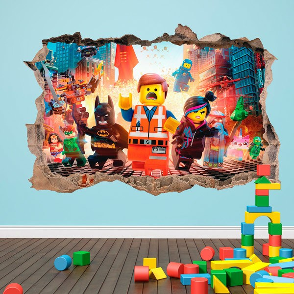 Stickers for Kids: Lego, characters in the city