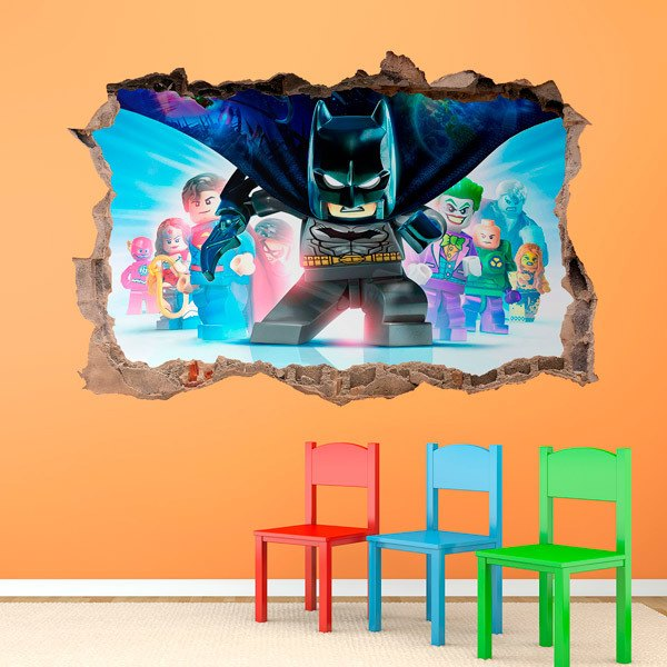 Stickers for Kids: Lego, Batman cape