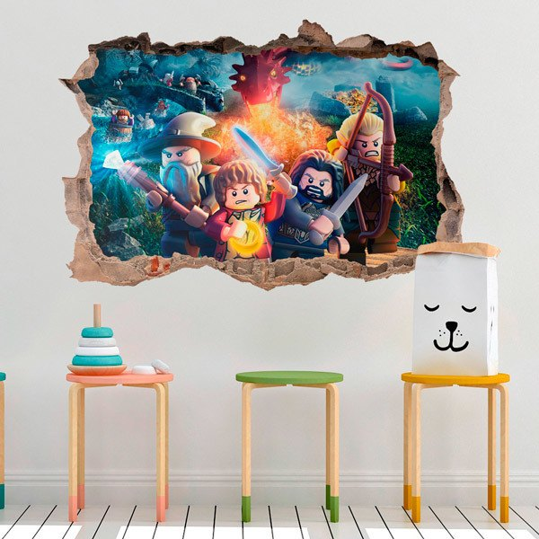 Stickers for Kids: Lego, the adventures of the Hobbit