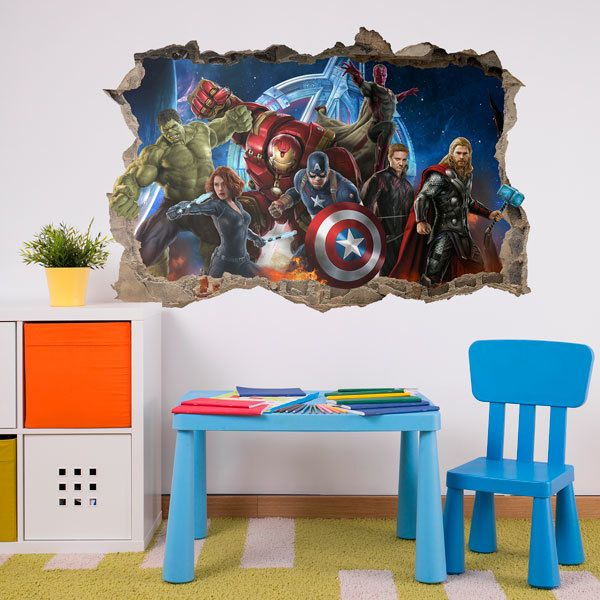 Wall Stickers: Avengers Ready for Battle