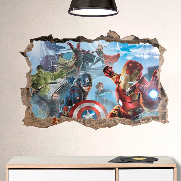 Wall Stickers: Avengers in Action