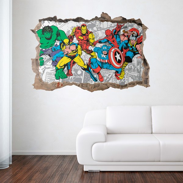 Wall Stickers: Classic Avengers