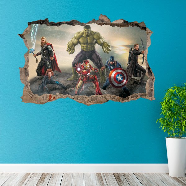 Wall Stickers: Avengers Battle