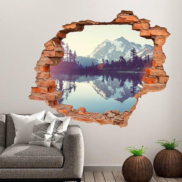 Wall Stickers: Hole Pyrenees