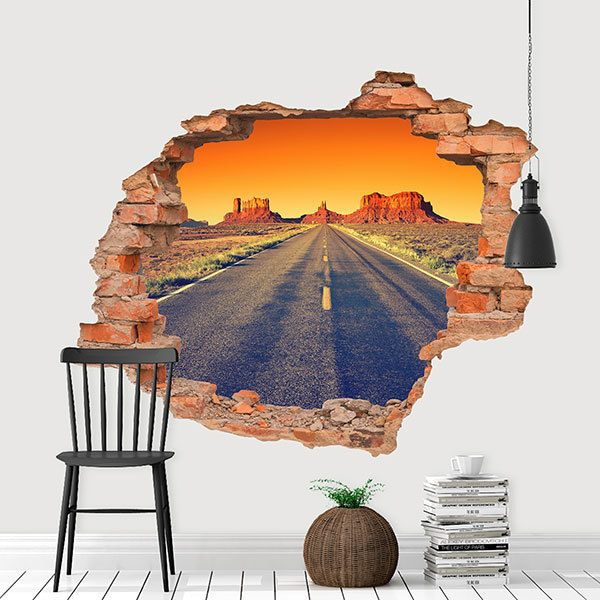 Wall Stickers: Hole Sunset at the Grand Canyon