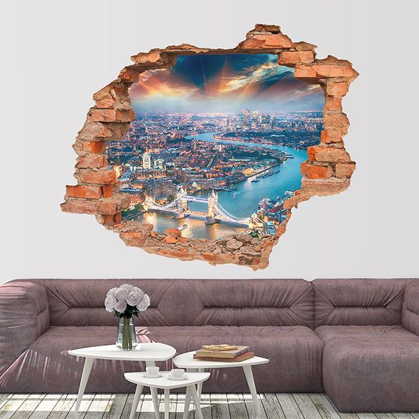 Wall Stickers: Hole Illuminated London