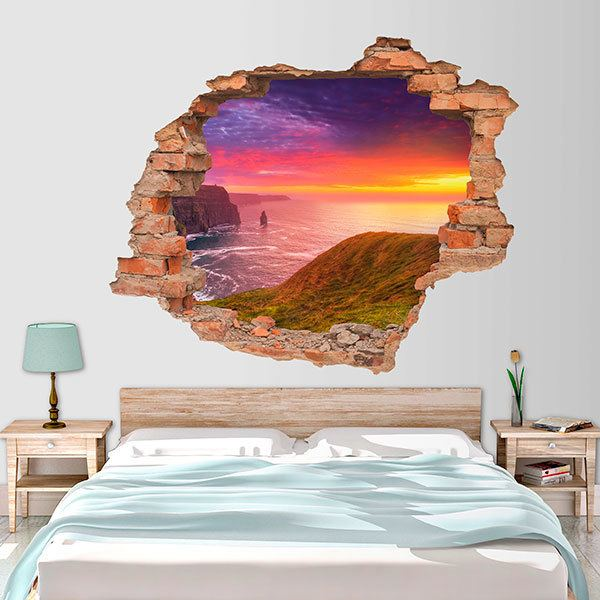 Wall Stickers: Hole Cliffs of Ireland