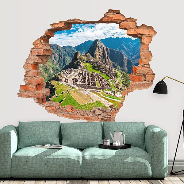 Wall Stickers: Hole Machu Pichu