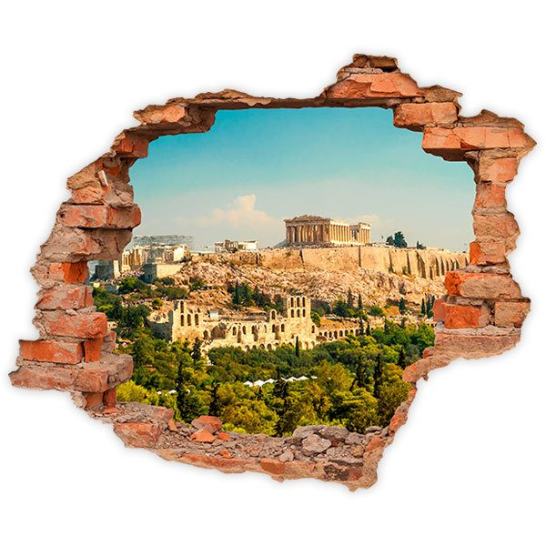 Wall Stickers: Hole Acropolis of Athens