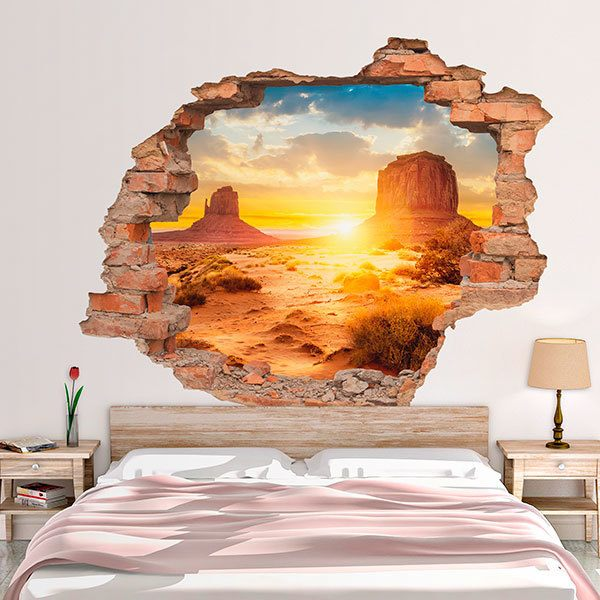 Wall Stickers: Hole Monument Valley