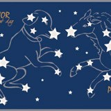 Wall Stickers: Self adhesive borders Constellations 4