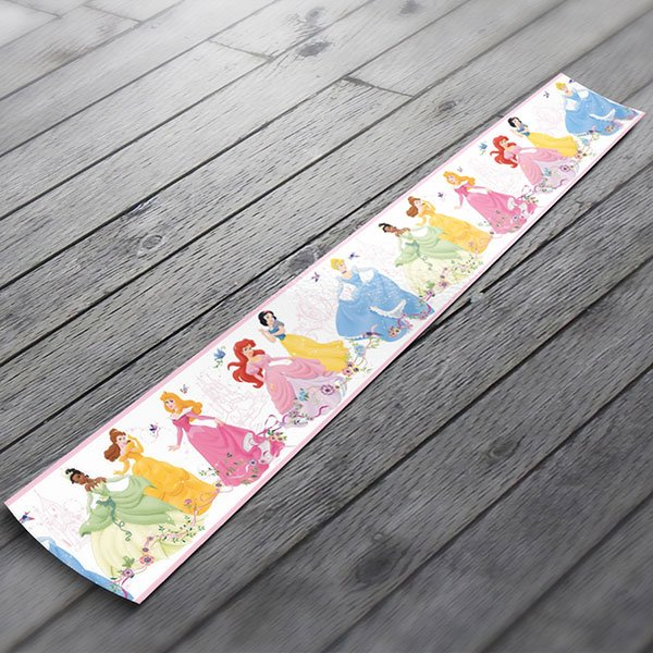 wall border disney princesses 2 stickers for kids wall border disney princesses 2