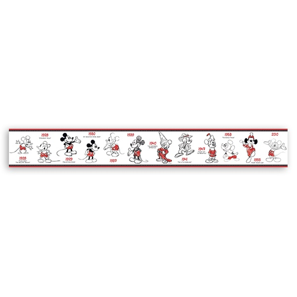Stickers for Kids: Wall Border Mickey Mouse
