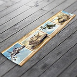 Wall Stickers: Wall Border army vehicles 3