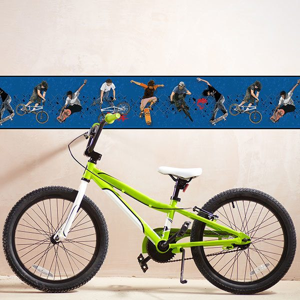Wall Stickers: Wall Border Skate