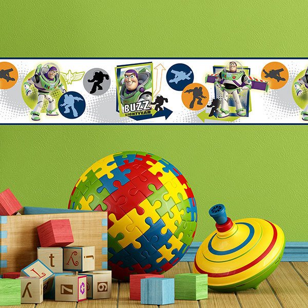 Stickers for Kids: Wall Border Buzz Lightyear (Toy Story)