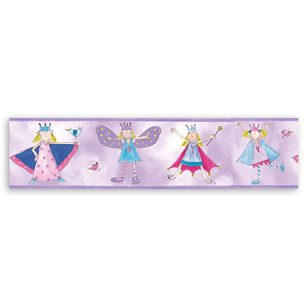 Stickers for Kids: Wall border for children's bethroom Little princes