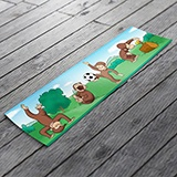 Stickers for Kids: Wall Border Curious George 3