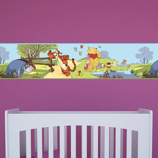 Stickers for Kids: Wall Border Winnie the Pooh